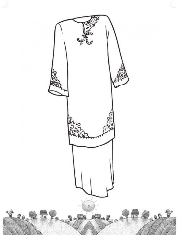 lembaran kerja kedua 214 siri awal mewarna pakaian