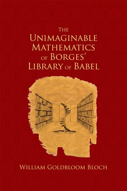 Library Poster Bermanfaat the Unimaginable Mathematics Of Borges Library Of Babel by William