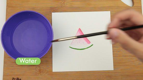 Lukisan 3 Dimensi Sederhana Di Kertas Penting 3 Cara Untuk Melukis Menggunakan Cat Air Untuk Pemula Wikihow