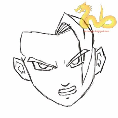 Lukisan 3d Di Kertas Yang Mudah Hebat Cara Menggambar son Goku Dragon Ball Z Manga Council