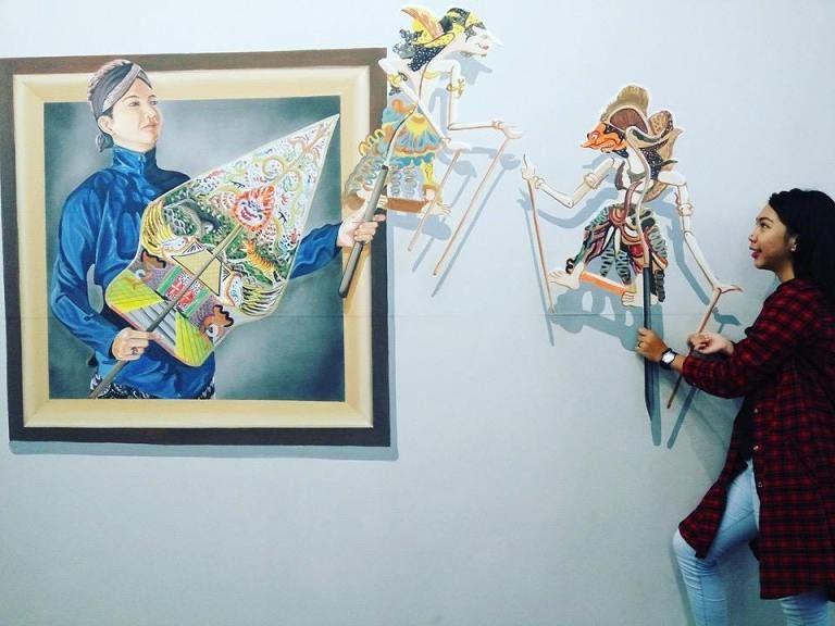 Lukisan 4 Dimensi Di Kertas Baik Lukisan Dinding 3d Berbagai Tema Untuk Berbagai Kebutuhan Realistis