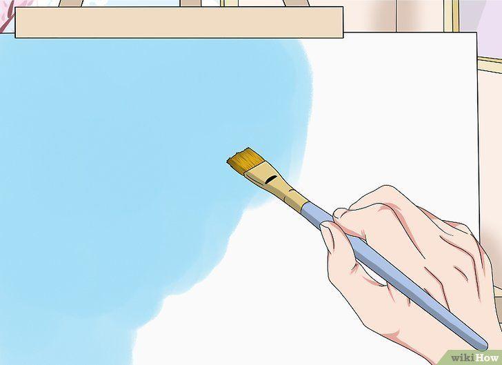 Lukisan atas Kertas Terbaik 3 Cara Untuk Melukis Awan Wikihow