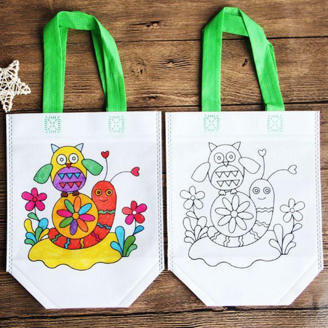 Lukisan Beg Kertas Terbaik Antistress Teka Teki Mainan Pendidikan Untuk Anak Diy Perlindungan