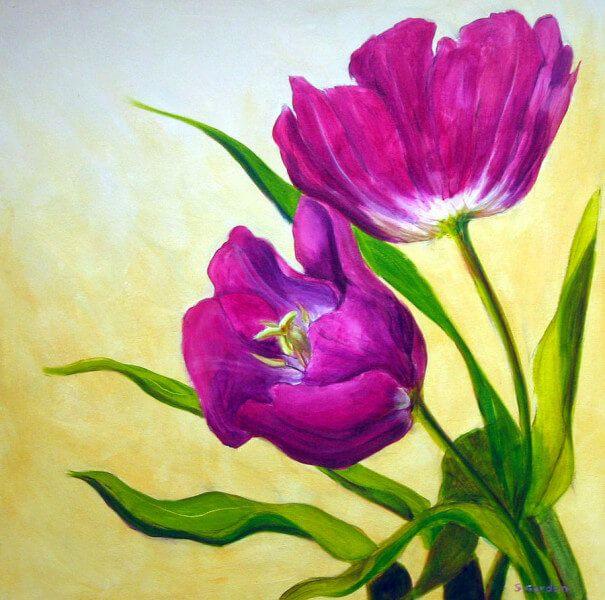 Lukisan Bunga Kertas Baik Inilah Makna Dari Lukisan Bunga Yang Jarang Diketahui Sarungpreneur
