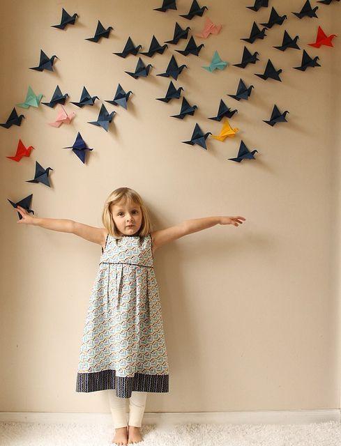 Lukisan Dari Kertas origami Meletup Ide Dekorasi Dinding Murmer Dari Kertas origami Prelo Blog Tips