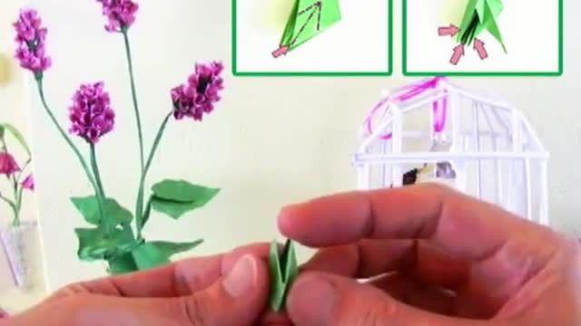 Lukisan Dari Kertas origami Terbaik Membuat Kertas origami Bunga Liar Vidio Com