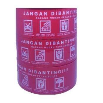 dimana beli daimaru lakban fragile isolasi pecah belah jangan dibanting merah 3 pcs