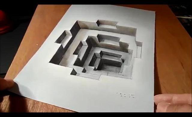 Lukisan Pensil 3d Di Kertas Bernilai Jom Download Himpunan Contoh Lukisan 3 Dimensi Di Kertas Yang