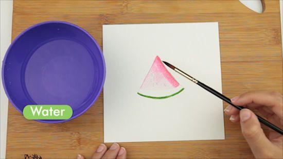 Lukisan Pensil 3d Di Kertas Terhebat 3 Cara Untuk Melukis Menggunakan Cat Air Untuk Pemula Wikihow