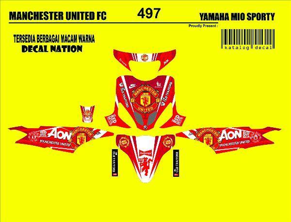 Macam Macam Poster Berguna Jual Sticker Motor Sticker Decal Yamaha Mio Sporty Kode 497 Di Lapak