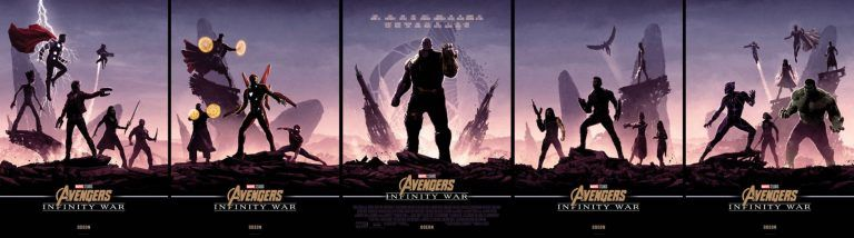 Marvel Poster Terbaik these Matt Ferguson Infinity War Posters are Incredible