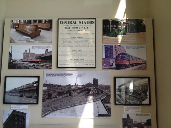 Memphis Poster Penting Memphis Trolley Railroad Museum Picture Of Railroad Trolley