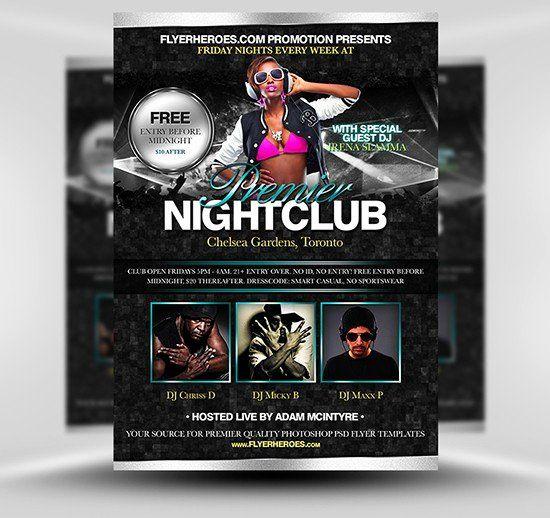 photoshop movie poster template elegant nightclub flyer nightclub flyer wallpaper unique poster templates 0d