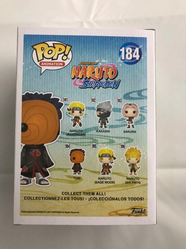Naruto Poster Terbaik Used Funko Pop Naruto tobi for Sale In Markham Letgo