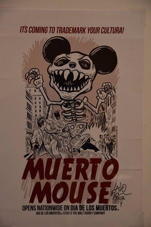 national museum of mexican art poster decrying disney s attempt to trademark the day of the