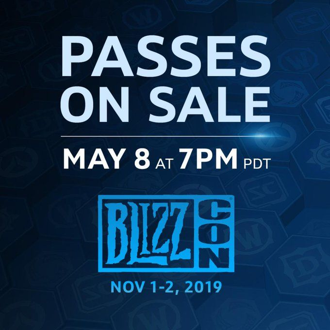 the second wave of blizzcon 2019 tickets are on sale now blizz ly 2lxmcnp