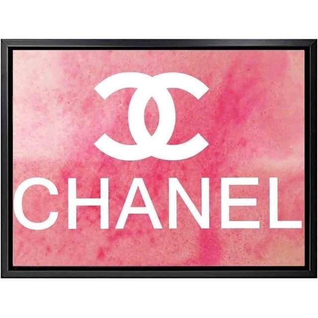 Perfume Poster Terbaik Coco Chanel Perfume Flowers Painting Fashion Quotes nordic Wall Art