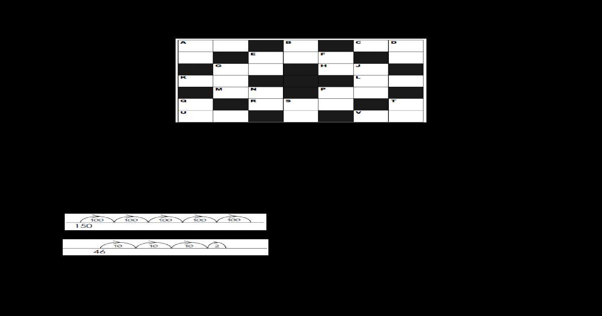 Pertandingan Teka Silang Kata Terbaik Pelbagai Jawapan Teka Silang Kata Matematik Tahap 1 Yang Sangat