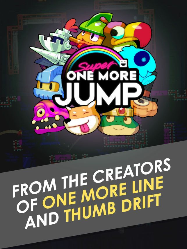 super one more jump on the app store
