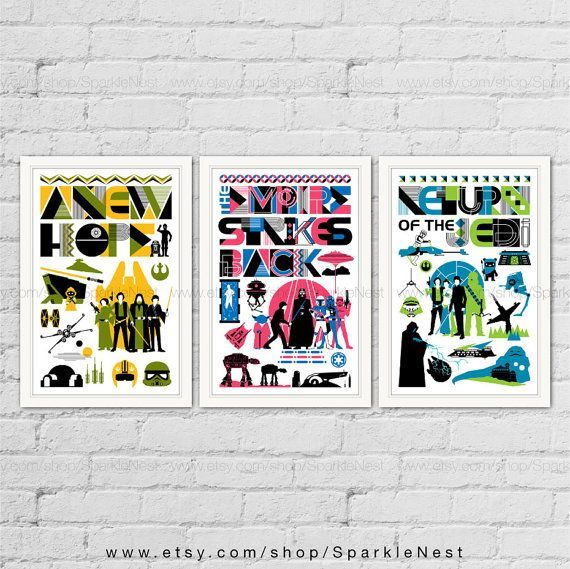 Pop Art Poster Design Penting Star Wars Posters Star Wars Home Decor Pop Art Movie Art Prints