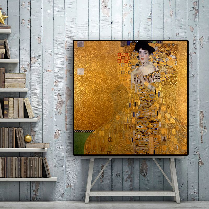 abstract gustav klimt vintage famous oil painting on canvas pop art posters and prints scandinavian wall