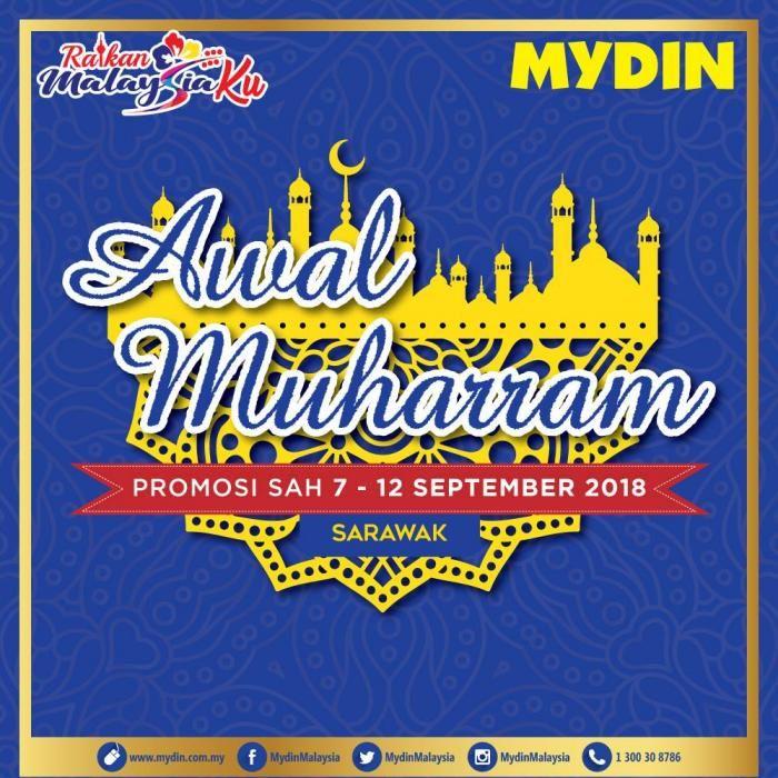 mydin awal muharram promotion at sarawak 7 september 2018 12 september 2018
