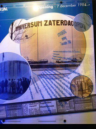 Poster Air Penting Altes Poster Picture Of Omniversum the Hague Tripadvisor