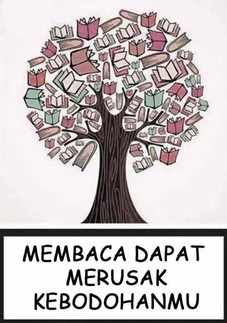 gambar 12 contoh poster slogan ajakan membaca buku kreatif