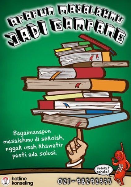 Download Cepat Poster Ajakan Membaca Buku Yang Gempak Dan ...