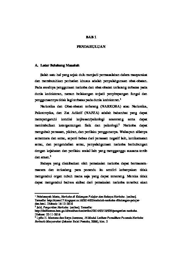 Poster Anti Narkoba Untuk Pelajar Baik Doc Narkoba Narkotika Psikotropika Dan Zat Adiktif Adinda K