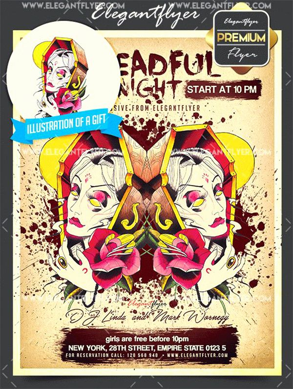flyer template free download fresh free halloween flyer templates shop new poster templates 0d