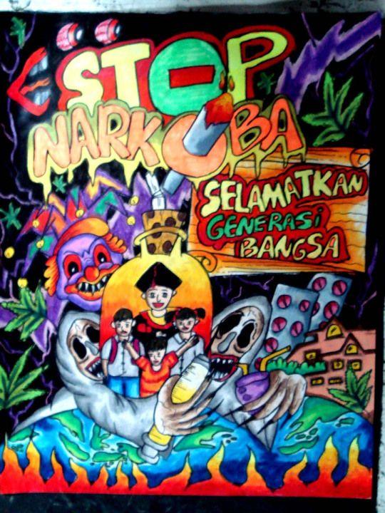 Poster Bahaya Narkoba Power Bahaya Narkoba Bagi Anak Muda Bangsa Inframe