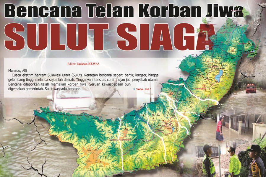 Poster Bencana Alam Penting Bencana Telan Korban Jiwa Sulut Siaga Skh Media Sulut
