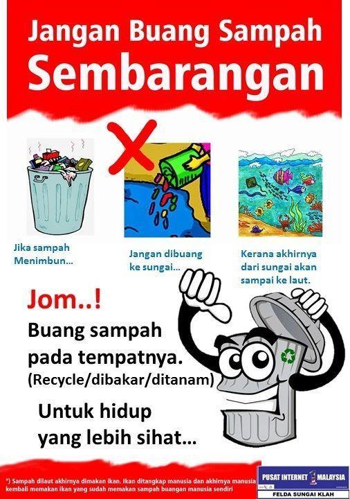 Poster Buang Sampah Berguna Himpunan Terbesar Poster Buanglah Sampah Pada Tempatnya Di Sekolah