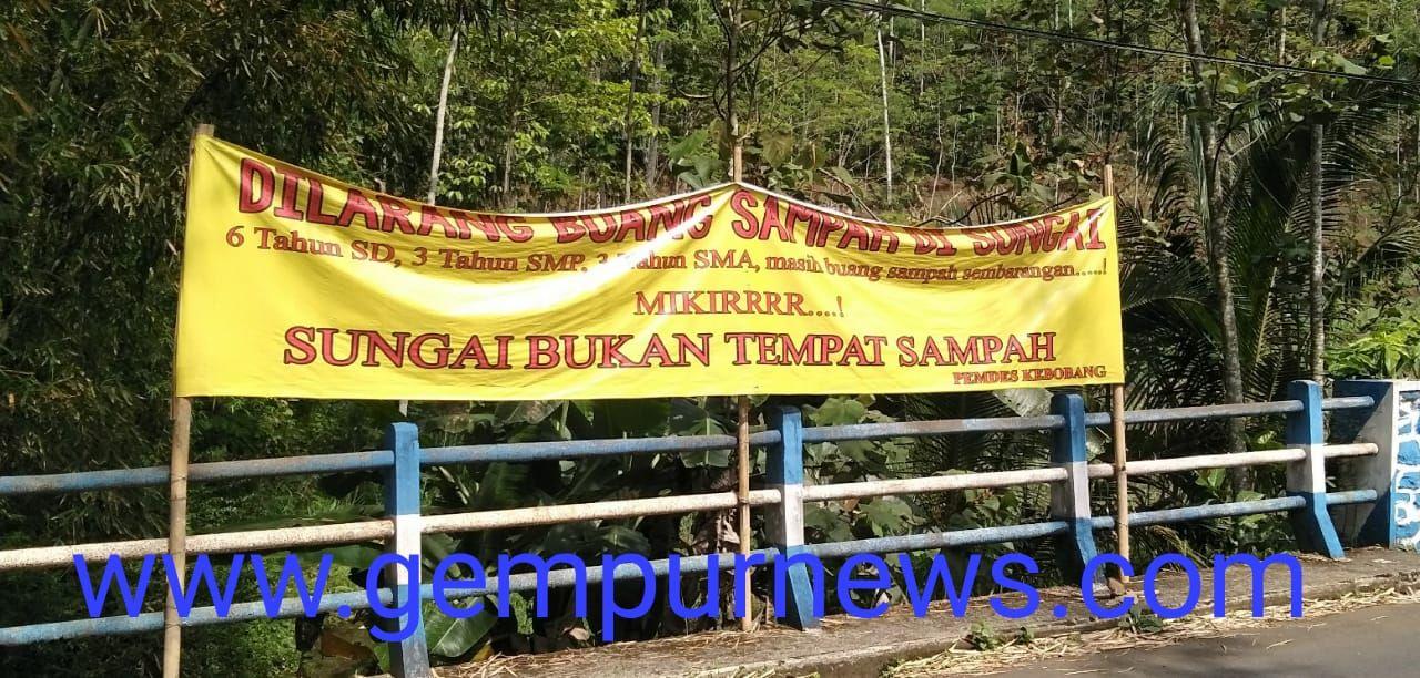 Poster Buang Sampah Penting Poster Dilarang Buang Sampah Di Sungai Mikirrr Gempur News