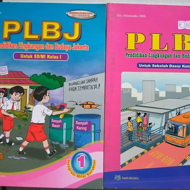 buku plbj untuk sd kelas 1 untuk sd kelas 4 hanya yg ada di pic harga