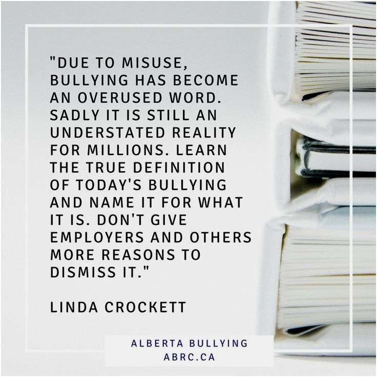 learn what bullying is don t give your employers a reason to dismiss it