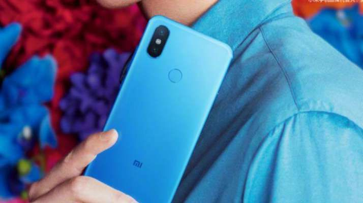 mi 6x mi a2 teaser poster shows off new blue colour iphone x like rear camera