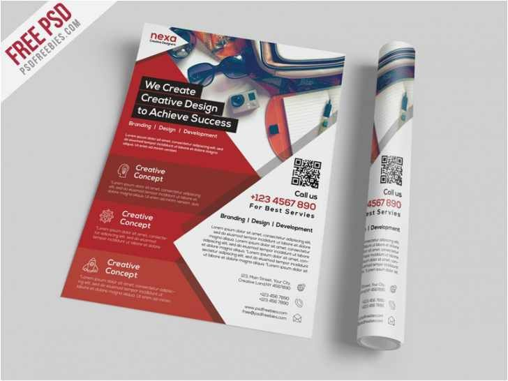 download advertising flyer poster template free poster templates 0d download