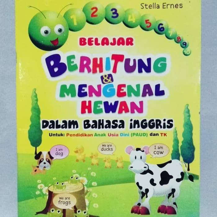 Poster Dalam Bahasa Inggris Baik Jual Buku Anak Belajar Berhitung Dan Mengenal Hewan Dalan Bahasa