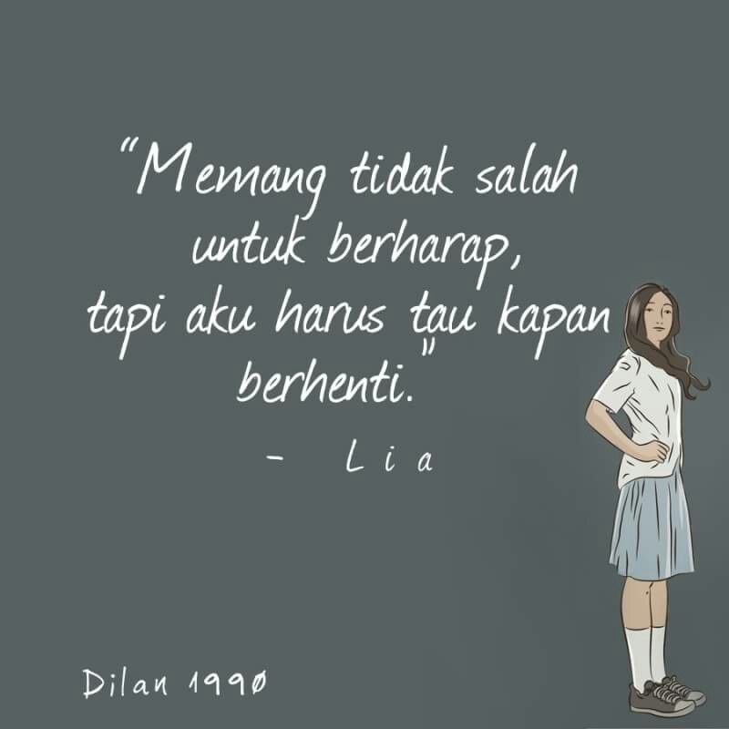50 best dilan quotes images dilan quotes quotes indonesia random stuff