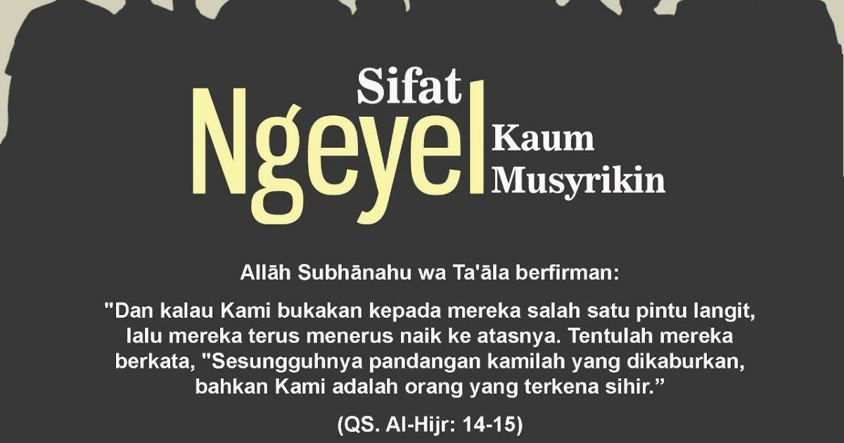 kajian islam usaha kaum musyrikin quraisy dalam menghalangi dakwah nabi shallallahu alayhi wa sallam bagian 3 dari 6