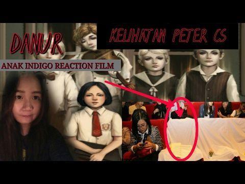 poster danur bernilai anak indigo reaction film danur kelihatan peter cs echa anak