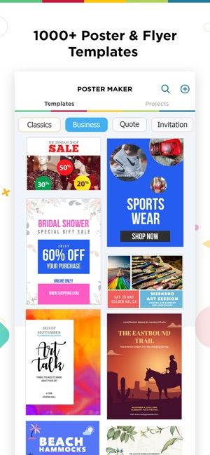 Poster Final Year Project Terbaik Poster Maker Flyer Designer On the App Store