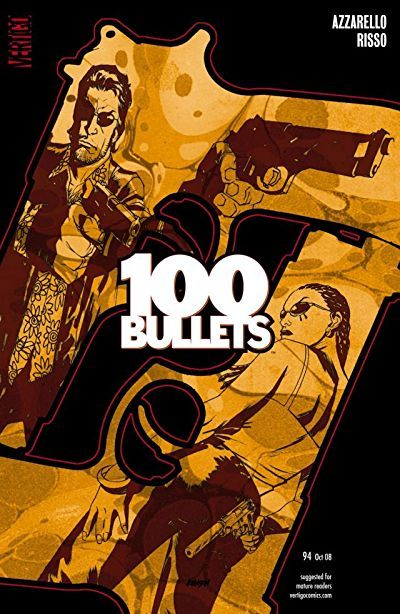 Poster Game Penting 100 Bullets 94 Dc Entertainment