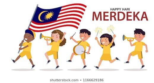 Poster Hari Merdeka Penting Hari Malaysia Stock Vectors Images Vector Art Shutterstock
