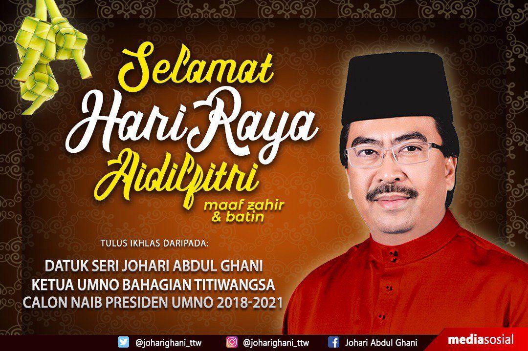 saya ingin ucapkan selamat hari raya aidilfitri maaf zahir dan batin saya doakan semoga limpahan rahmat dan keberkatan memayungi kita untuk semua muslimin