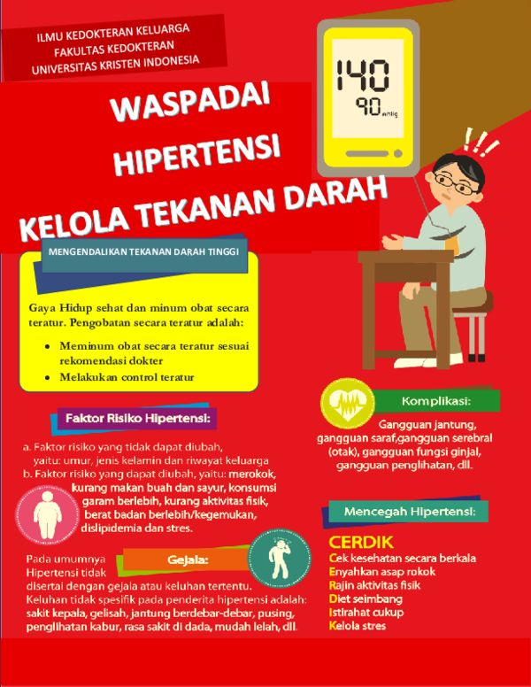 Poster Hidup Sehat Penting Doc Poster Hipertensi Fina Rachma Destafany Academia Edu