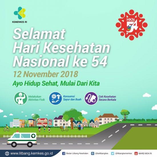 e poster hari kesehatan nasional 2018 kemenkes