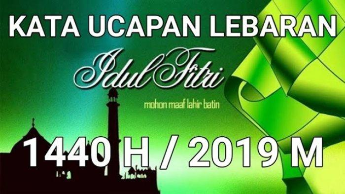 Poster Idul Fitri Menarik Ucapan Selamat Idul Fitri Dalam Bahasa Arab Inggris Dan Indonesia